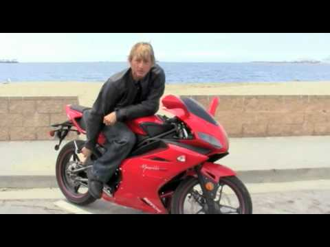 2010 Bennche Megelli 250R Motorcycle Review UK designed Chinese made courtesy of Texas