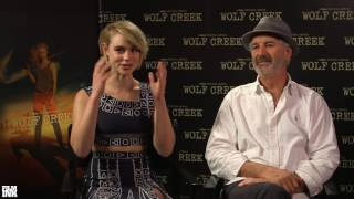 Interview: John Jarratt and Lucy Fry (Wolf Creek)