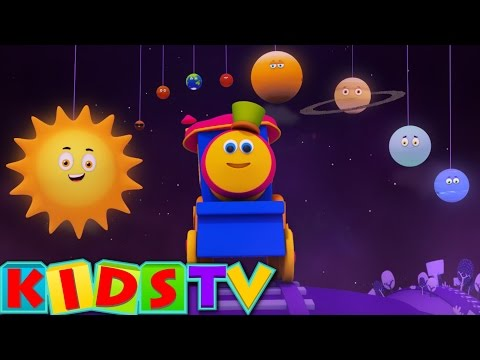 Bob The Train | Planets Song | Planets Ride with Bob | Space Adventure Bob the train