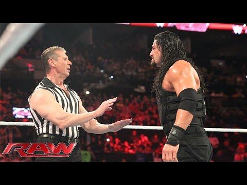 Roman Reigns vs. Sheamus – WWE World Heavyweight Championtitel Match: Raw, 4. Januar 2016
