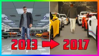 COMPARING GTA ONLINE IN 2013 VS 2017 & HOW IT