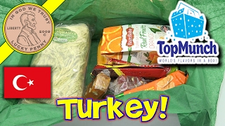 TopMunch Monthly Subscription Box - Snacks & Candy From Turkey
