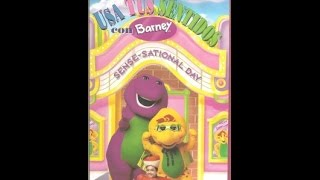 "Barney: Usa Tus Sentidos Con Barney | ""Sense-Sational Day"" (Spanish)"