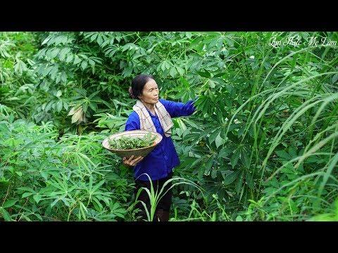 Nộm rau sắn nộm núc nác I Đặc sản quê nhà Cassava Leaves Salad Nuc Nac Salad I Ẩm Thực Mẹ Làm