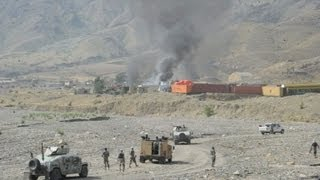 Afghan Taliban attack US base near Pakistan border: officials