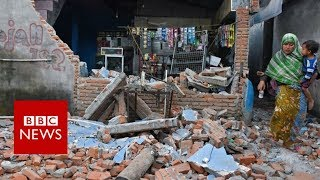 Lombok earthquake: Expert warns of strong aftershocks in Indonesia - BBC News