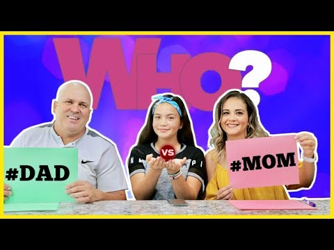 Xxx Mp4 DAD VS MOM WHO KNOWS ME BETTER SISTER FOREVER 3gp Sex