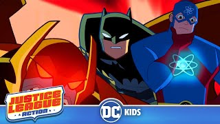 Justice League Action | Up And Atom! | Episode 1