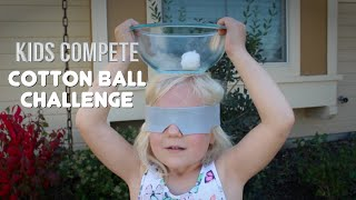 COTTON BALL CHALLENGE | Kids Compete!