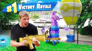 REAL LIFE FORTNITE CHALLENGE