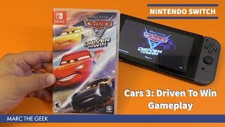 Nintendo Switch Cars 3: Driven To Win Gameplay