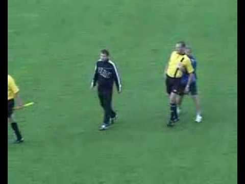 الحكم السكران فى روسيا البيضاء Drunk referee