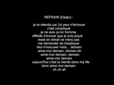 The Shin Sekaï ft. Gradur - Aime moi demain (PAROLES)