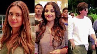 SRK, Shilpa Shetty, Esha Gupta, Vidya Balan, Anurag Basu & Karanvir Bohra Spotted at Airport