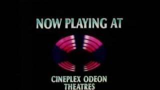 Cineplex Odeon Theatres--Now Playing (1985-1989)