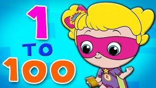 The Big Numbers Song, Counting Numbers Learn Numbers 123 Song by Kids Bottle Squad S1EP15