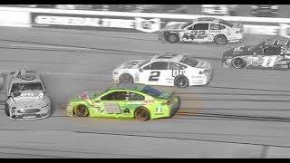 Steer Clear: Watch Dale Jr. deftly avoid Talladega wrecks