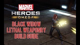 Black Widow 'Lethal Weaponry' Build Guide - Marvel Heroes Omega (PS4/XBOX)