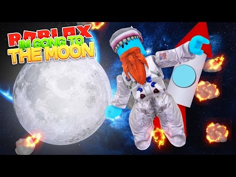I M GOING TO THE MOON Sharky Gaming Roblox