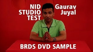NID Studio Test Preparation Tips (Sample DVD Video) by BRDS