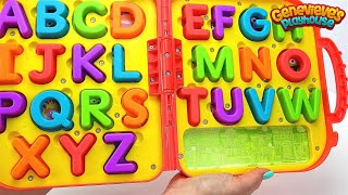 Best Learning Videos for Kids Smart Kid Genevieve Teaches toddlers ABCS, Colors! Kid Learning Fun!
