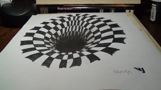 Drawing/Dibujo - Ilusion Optica - 2015 HD / Valentina Ortega