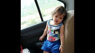 Little cute Girl Drishti enjoying