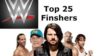 WWE Top 25 Finishers