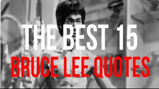 15 Magic Bruce Lee Quotes that Make You Motivated