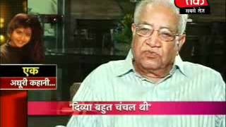 Divya's parents & others on AAJ TAK News (2) - Part 3