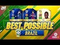 BEST POSSIBLE BRAZIL TEAM! w/ PELE AND TOTS NEYMAR! | FIFA 17