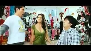 Jacqueline Fernandez super hot boob shake cleavage from Jaane kaha se aayi hai ultra slow motion 001