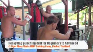 Heavy Bag punching drill for Beginners to Advanced