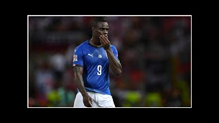 Italy football news: Mario Balotelli dropped by Italy for Nations League clash with Portugal