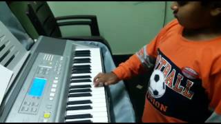 PACHA BOTTU SONG PLAYED BY MY STUDENT TONY