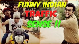 Funny Indian Traffic Sense l The Baigan Vines