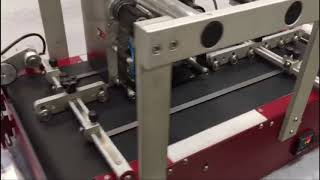 Savema Vacuum Feeder with SVM 32 Intermittent TTO Printing Job