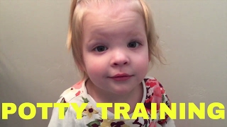 WHO USES THE POTTY FOR THE FIRST TIME?