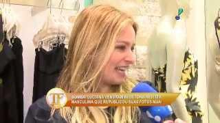 tv fama Luciana Vendramini não aprova republicação de suas fotos nua 19 08 2015 mircmirc