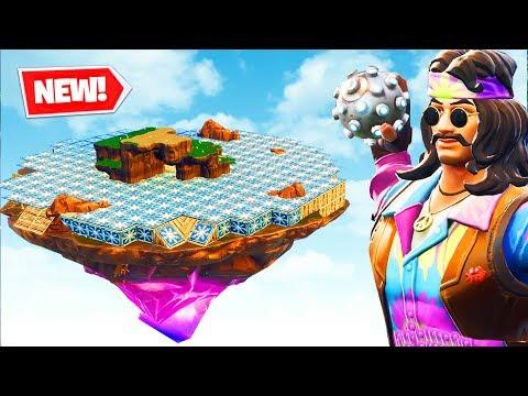 ICY ISLAND TRAPBALL Custom Gamemode Fortnite Battle Royale
