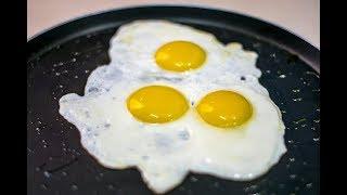 أفضل طريقه لقلي البيض