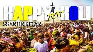 HAPPY HOLI   SHANTINIKETAN   BASANTA UTSAV   2017