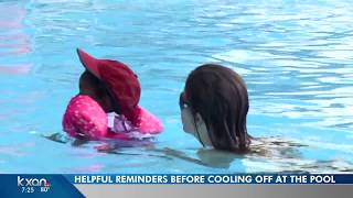Tips to stay safe as you head to the pool this summer