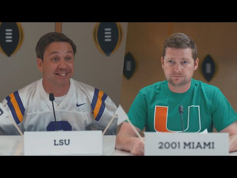 SEC Shorts LSU is put on trial by past National Championship teams