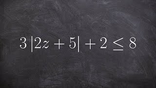 Learn how to solve absolute value inequalites by creating compound inequalities