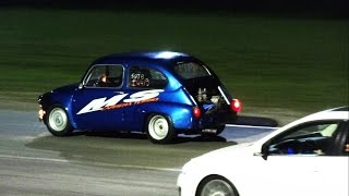 Fiat 600 Vs Vento 2.0T -  ¡¡¡ Esa 3era Dios Dios!!!!!