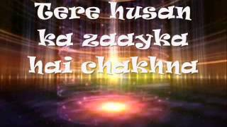Jawaani Le Doobi -  Kyaa Kool Hain Hum3 - Tusshar Kapoor Aftab Shivdasani Gauhar Khan Lyrics Video l