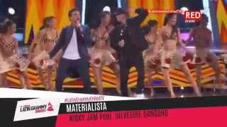 Nicky Jam y Silvestre Dangond en los Premios Grammy Latinos 2015