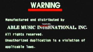 Able Music International, inc. Logo with Video CD Noise Effect #2