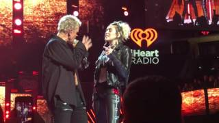 I HeartRadio Music Festival 2016 Billy Idol ft. Miley Cyrus - Rebel Yell